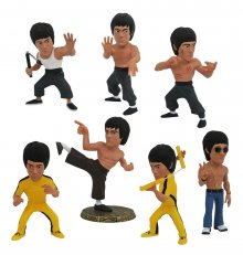 Bruce Lee D-Formz PVC mini figurky 8 cm Display (12)