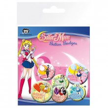 Placky Sailor Moon 6-pack