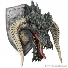 Dungeons & Dragons Trophy Figure Black Dragon (Foam Rubber/Latex