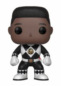 Power Rangers POP! TV Vinylová Figurka Black Ranger (No Helmet)