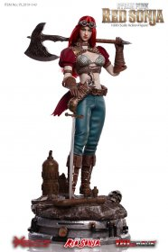 Red Sonja Akční figurka 1/6 Steampunk Red Sonja Deluxe Version 2