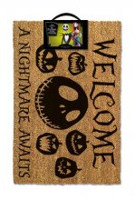 Nightmare before Christmas Doormat A Nightmare Awaits 40 x 60 cm