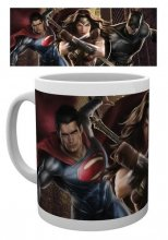 Batman v Superman Dawn of Justice Mug Trio Action
