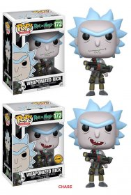Rick and Morty POP! Animation Figures Weaponized Rick 9 cm Assor