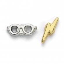 Harry Potter Naušnice Lightening Bolt & Glasses