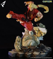 Street Fighter Battle of the Brothers Diorama 1/6 Ken Masters 45