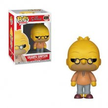 Simpsons POP! TV Vinylová Figurka Abe 9 cm