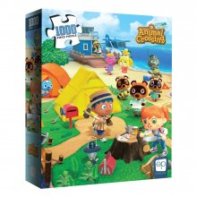 Animal Crossing New Horizons skládací puzzle Welcome to Animal C