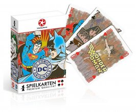 DC Originals Number 1 Playing Cards *German Packaging*