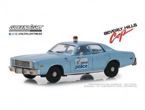 Beverly Hills Cop kovový model 1/43 1977 Plymouth Fury Detroit