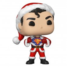 DC Comics POP! Heroes Vinylová Figurka DC Holiday: Superman in H