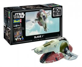 Star Wars Model Kit 1/88 Slave I - 40th Anniversary 34 cm