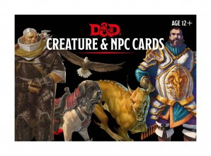 Dungeons & Dragons Monster Cards: Creature & NPC *English Versio