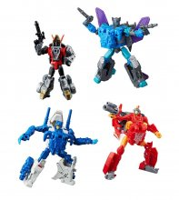 Transformers Generations Power of the Primes Action Figures Delu