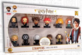 Harry Potter Stamps 12-Pack Wizarding World 4 cm