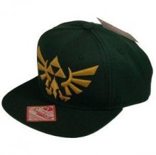 The Legend of Zelda Snap Back kšiltovka Embroided Gold Logo