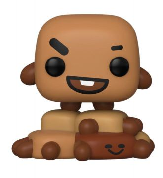 BT21 Line Friends POP! Animation Vinylová Figurka Shooky 9 cm