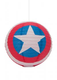 Marvel Comics Paper Light Shade Captain America 30 cm