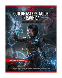 Dungeons & Dragons RPG Guildmasters' Guide to Ravnica - Maps & M