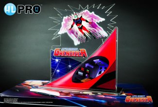 UFO Robot Grendizer Acrylic Diorama Duke Fleed Transformation 15