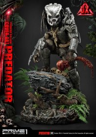 Predator Socha Big Game Cover Art Predator Deluxe Version 72 cm