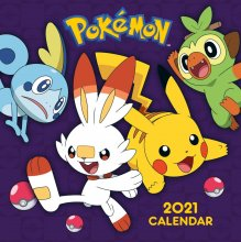 Pokémon Calendar 2021 *English Version*