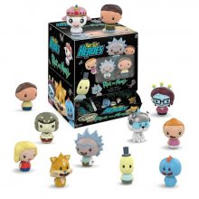 Rick and Morty Pint Size Heroes mini figurky 6 cm Display (24)