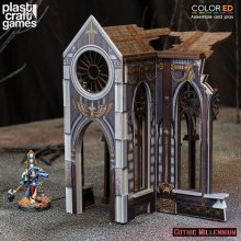 Gothic Millennium ColorED Miniature Gaming Model Kit 28 mm Cathe