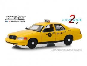 John Wick Chapter 2 kovový model 1/43 2008 Ford Crown Victoria