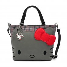 Hello Kitty by Loungefly Crossbody Grey Kitty