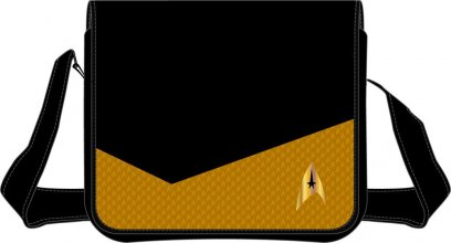 Star Trek Shoulder Bag Yellow Suit