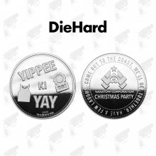 Die Hard Collectable Coin Yippee Ki Yay (silver plated)