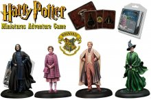 Harry Potter Miniatures 35 mm 4-pack Bradavice Professors *Engli