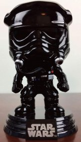 Star Wars POP! Vinyl Bobble-Head Figure Tie Fighter Pilot Black
