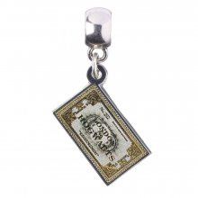 Harry Potter Slider Charm Bradavice Express (silver plated)