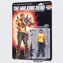 The Walking Dead Action Figure Shiva Force Commander Rick (Color