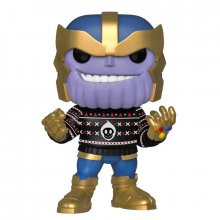Marvel Holiday POP! Marvel Vinylová Figurka Thanos 9 cm