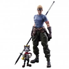 Final Fantasy VII Advent Children Play Arts Kai Akční Figurky C