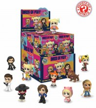 Birds of Prey Mystery Minis Vinyl mini figurky 6 cm Display (12)