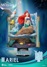 Disney Story Book Series D-Stage PVC Diorama Ariel 15 cm