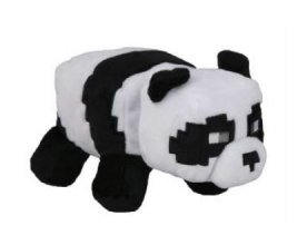 Minecraft Happy Explorer Plyšák Panda 18 cm