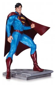 Superman The Man Of Steel Socha Cully Hamner 18 cm