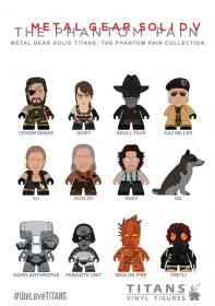 Metal Gear Solid Trading Figure The Phantom Pain Collection Tita