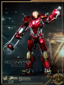 Iron Man 3 MMS akční figurka Iron Man Mark XXXV Red Snapper