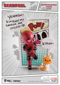 Marvel Comics Mini Egg Attack Figure Deadpool Jump Out 4th Wall