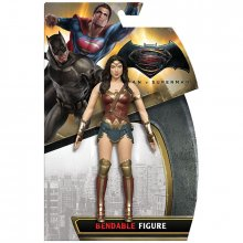 Batman v Superman ohebná figurka Wonder Woman 14 cm
