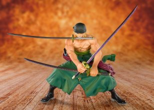 One Piece FiguartsZERO PVC Socha Pirate Hunter Zoro 11 cm
