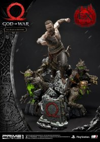God of War (2018) Statues Baldur & Broods + Baldur & Broods Excl