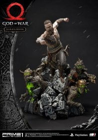 God of War (2018) Socha Baldur & Broods 62 cm