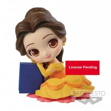 Disney Q Posket Sweetiny mini figurka Belle Ver. A 10 cm